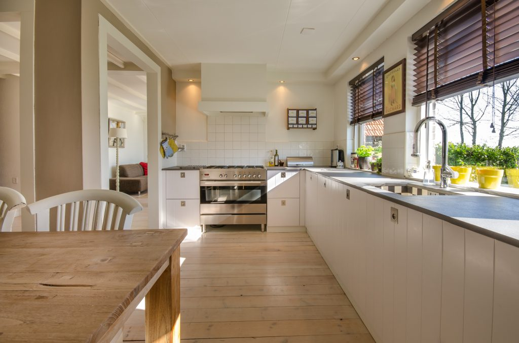 It's easy to tell the difference between a professional and a domestic clean